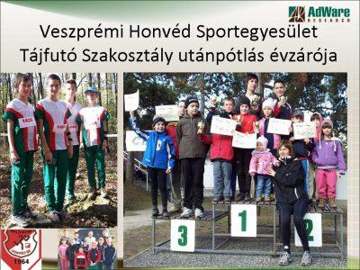 Tájfutó Szakosztály up korosztály évzáró 2012